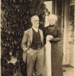 Joseph Macky (founder) and wife Mary, circa 1915, Devonport